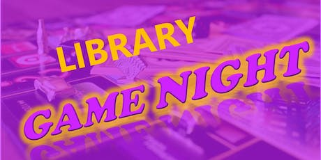 Game Night: Board Games tickets
