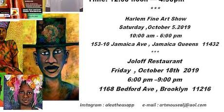 Art Gallery Show pop -Up tickets