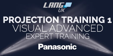 PROJECTION TRAINING 1 - PANASONIC VISUAL ADVANCED EXPERT tickets