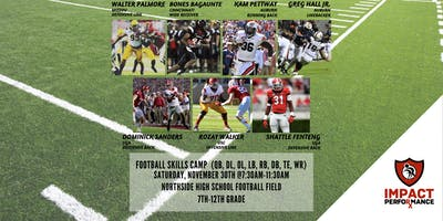 Football Skills Camp (QB, OL, DL, LB, RB, DB, WR)
