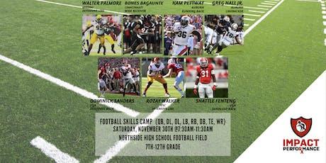 Football Skills Camp (QB, OL, DL, LB, RB, DB, WR) tickets