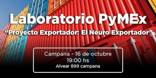 """Laboratorio PyMEx  - """"Proyecto Exportador"""""""