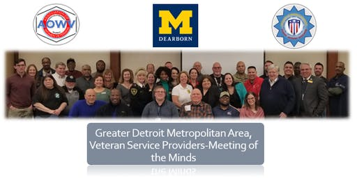 Detroit Metropolitan Area, Veteran Support Personnel, Fall 2019, Meeting of the Minds