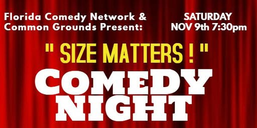 Comedy Showcase: SIZE MATTERS