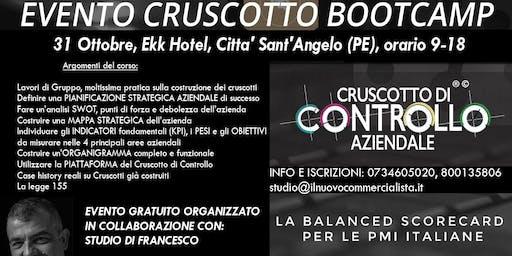 BOOTCAMP CRUSCOTTO DI CONTROLLO, Pescara, 31 ottobre