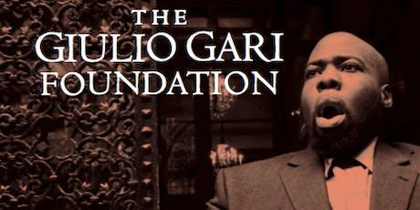 The Giulio Gari International Benefit Concert tickets