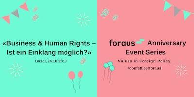 Business & Human Rights - Ist ein Einklang möglich?