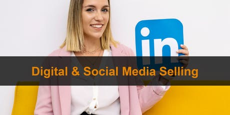 Sales Training Manchester: Digital & Social Media Selling tickets