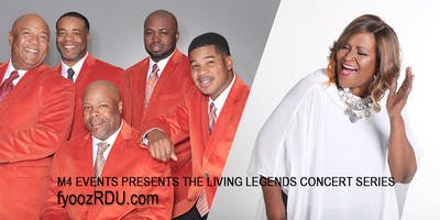 THE CANTON SPIRITUALS AND LASHUN PACE LIVING LEGENDS CONCERT SERIES