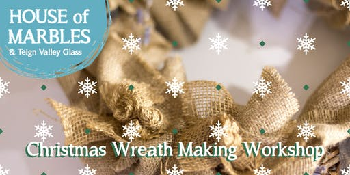Burlap Christmas Wreath Making Workshop