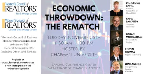 Economic Throwdown: The Rematch