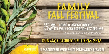 Family Fall Festival  - Celebrate Sukkot tickets