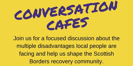 Severe and Multiple Disadvantage Conversation Cafe hosted by Serendipity-sbrc tickets