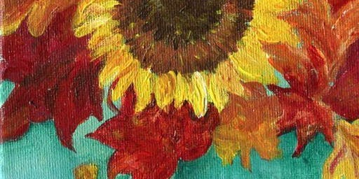 @Enfield: Sunflower in Vase