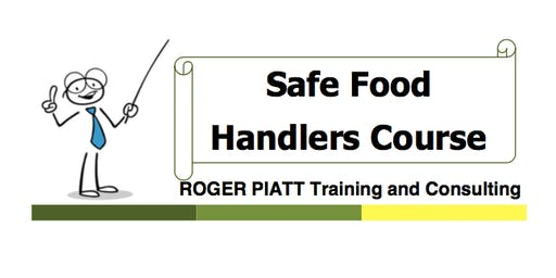 Food Handling Course - Meadow Lake - Monday October 21, 2019