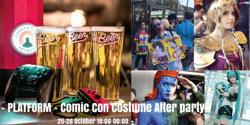 Platform - Comic Con Costume After party