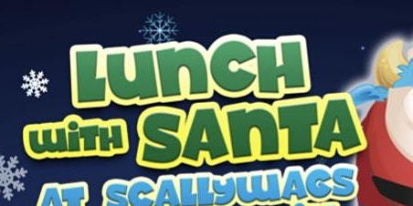 kids lunch, visit Santa and soft play