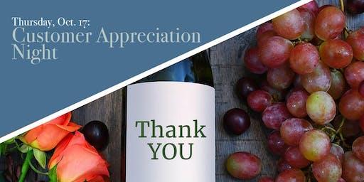 Customer Appreciation Night!