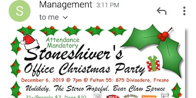 Stoneshiver's Office Christmas Party