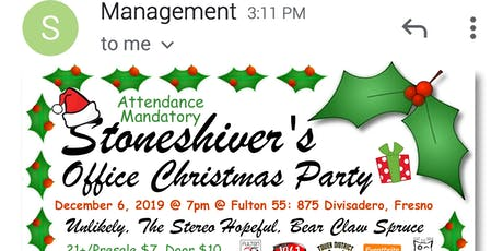 Stoneshiver's Office Christmas Party tickets