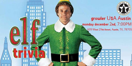 Elf Trivia at Growler USA Austin