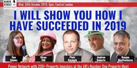 Baker Street Property Meet - 30 Oct 2019 tickets