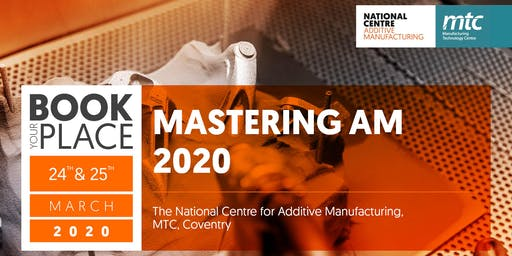 Mastering AM 2020 - Save The Date