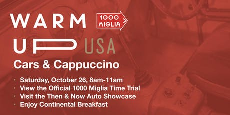 Cars & Cappuccino -1000 Miglia USA tickets