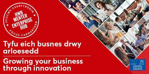 Tyfu eich busnes drwy arloesedd | Growing your business through innovation