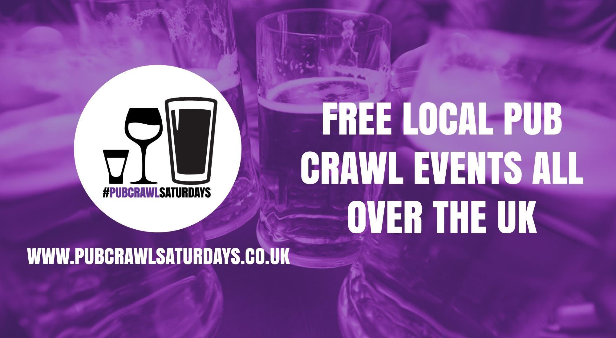 PUB CRAWL SATURDAYS! Free weekly pub crawl event in Stretford
