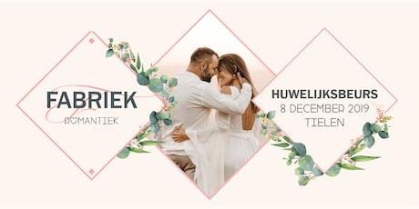 Fabriek Romantiek 2019 | Huwelijksbeurs tickets