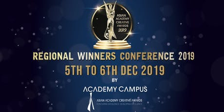 Regional Winners Conference 2019, Academy Campus tickets