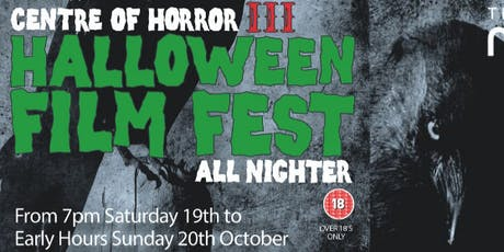 Centre of Horror Part III - Halloween Film Event tickets