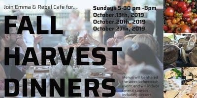 Fall Harvest Dinner Series