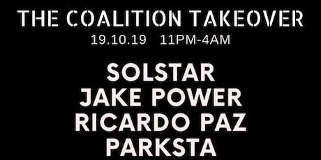 The Coalition Takeover tickets