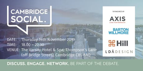 Cambridge Social - November tickets