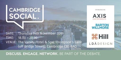 Cambridge Social - November