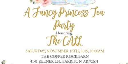 A Fancy Princess Tea Party