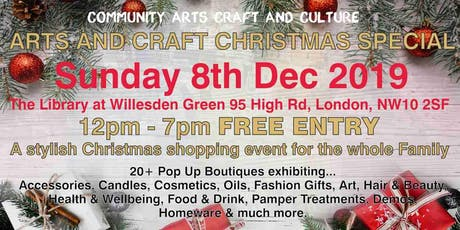 Arts & Craft Christmas Fair tickets