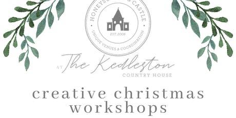 Christmas Table Arrangement Workshop tickets