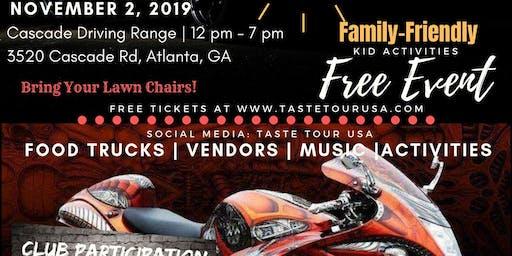 Taste Tour Food and Car SHow Atlanta