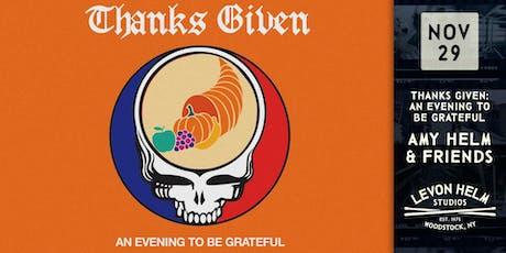 Thanks Given: An Evening To Be Grateful ft. Amy Helm & Friends tickets
