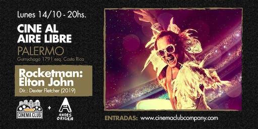 Cine al Aire Libre: ROCKETMAN (2019) -  Lunes 21/10