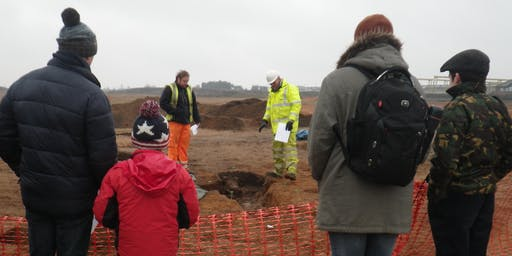 Sawtry Archaeological Excavation Guided Tour