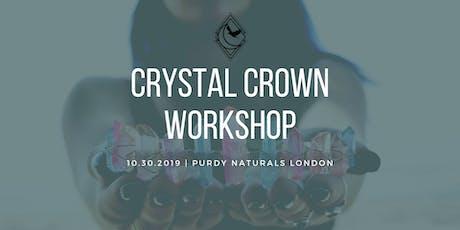 Crystal Crown Workshop tickets