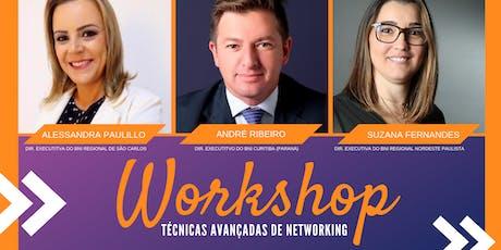 Workshop - Técnicas Avançadas de Networking ingressos