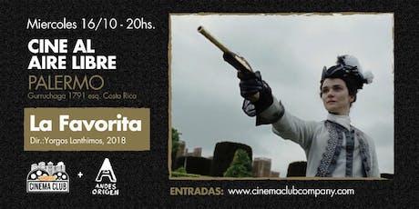 Cine al Aire Libre: LA FAVORITA (2018) -  Miercoles 16/10 entradas