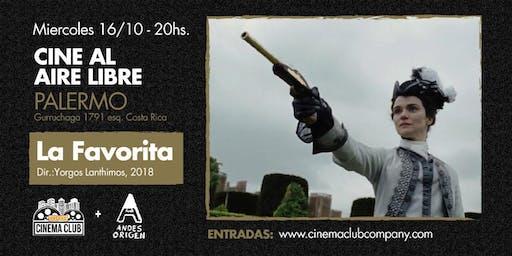 Cine al Aire Libre: LA FAVORITA (2018) -  Miercoles 16/10