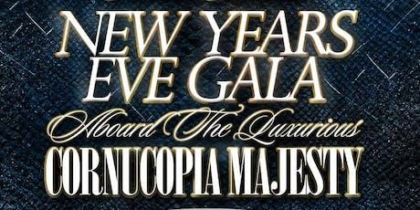2020 New Year's Eve NYC Gala Aboard The Luxurious Cornucopia Majesty tickets