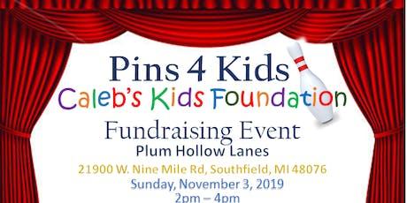 Pins 4 Kids Bowling Fundraiser tickets